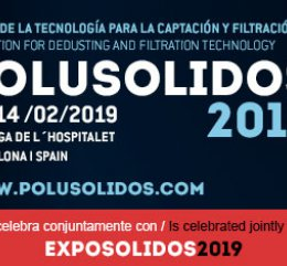 POLUSOLIDOS 2019 - Exhibition for Dedusting and Filtration Technology